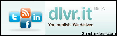 logo of dlvr Dlvr.it: Send RSS Feed to Twitter and Facebook