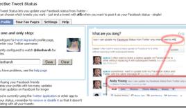 Selective Tweets Tweet only Selected Tweets to Facebook