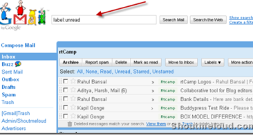 How to Browse Unread messages Quickly in Gmail
