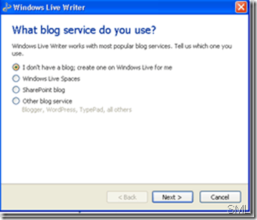 wlwmultipleblogsupportthumb thumb How to Publish to Posterous from Windows Live Writer