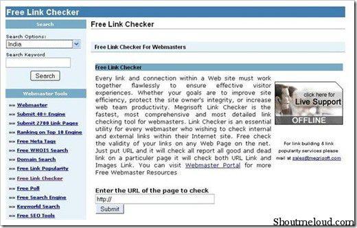 Free link checker