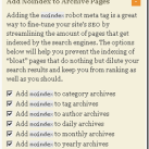 How to Avoid WordPress Post Duplication with Robots Meta tag in Thesis WordPress Theme