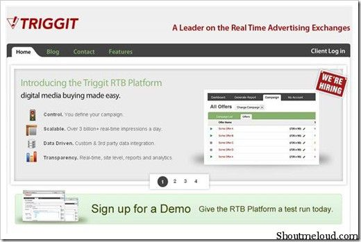Triggit 5 Best In Text Advertising Program for Bloggers