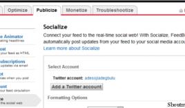 How to Auto Tweet your blog Post using Google Feedburner