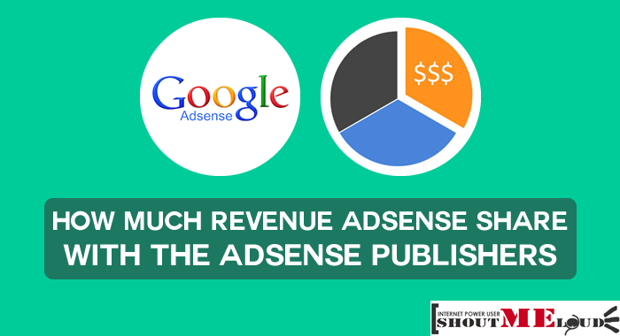 AdSense Publisher Revenue Share