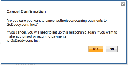 Cancel Paypal Automatic Billing