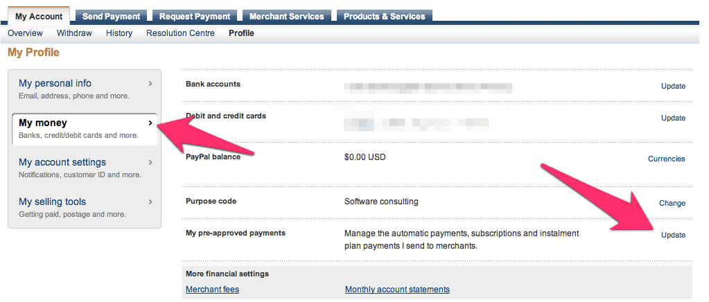 Cancel Paypal pre approved Payment How to Cancel PayPal Billing Agreement or Automatic Renewal