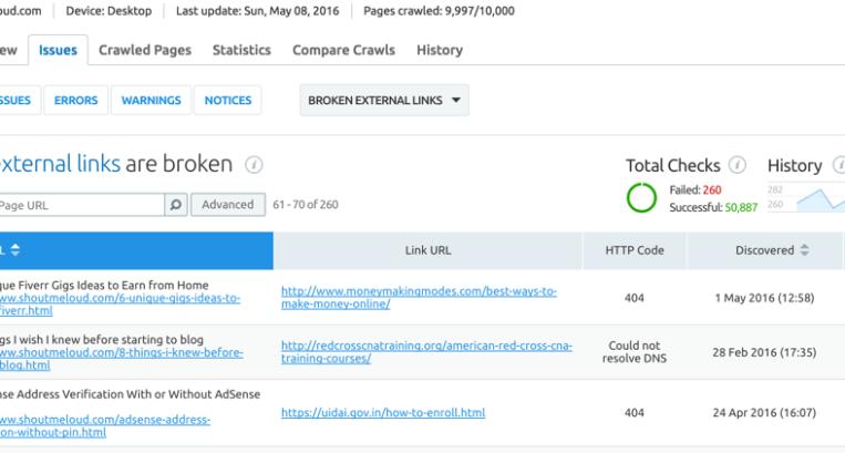 5 Broken Link Checker Websites: Get Rid of 404 Links