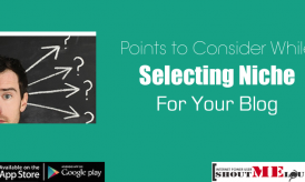 Points to Consider While Selecting Niche for Your Blog