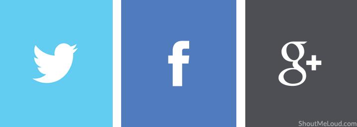 Create social media profiles