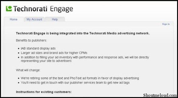 Technoratimedia 5 CPM Advertising Programs to Make Money from Your Blog