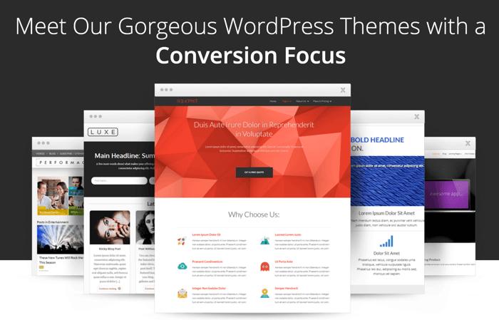 Thrive WordPress themes