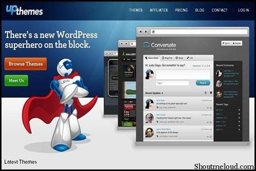 Upthemes Best Premium WordPress Themes Club