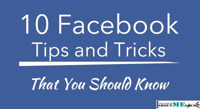 Useful Facebook tips and Fb tricks