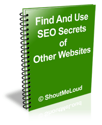 book Find And Use SEO Secrets of Other Websites