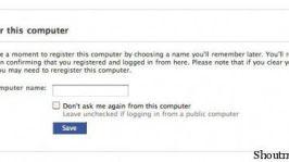 Facebook: New Facebook Login Account Security Settings