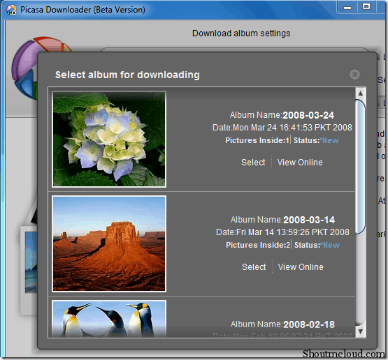 picasa downloader 4 Free Tools To Download Picasa Web Album