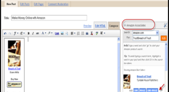 BlogSpot Amazon Integration: How to Monetize