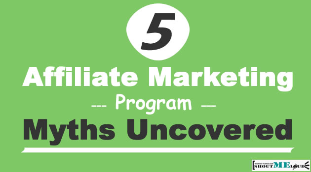 Affiliate Marketing Program Myth Uncovered
