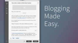 Blogo Vs. Mars Edit  Vs. Ecto: Desktop Blog Editors for Mac