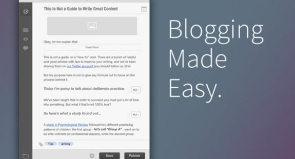 Blogo Blogging App for Mac