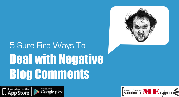 How to Deal with Negative Blog Comments