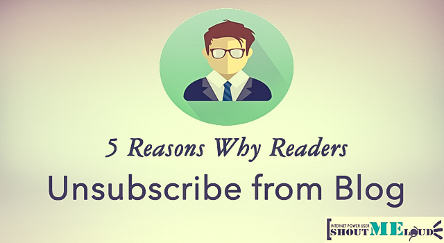 Why Readers Unsubscribe
