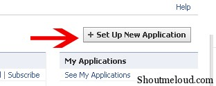 fb application key01 How to Acquire Your Facebook API Key