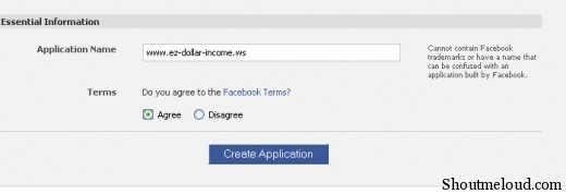 fb application key02 520x178 How to Acquire Your Facebook API Key