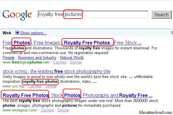 synonyms in search results Use Synonyms Words For Ranking Higher In Search Results