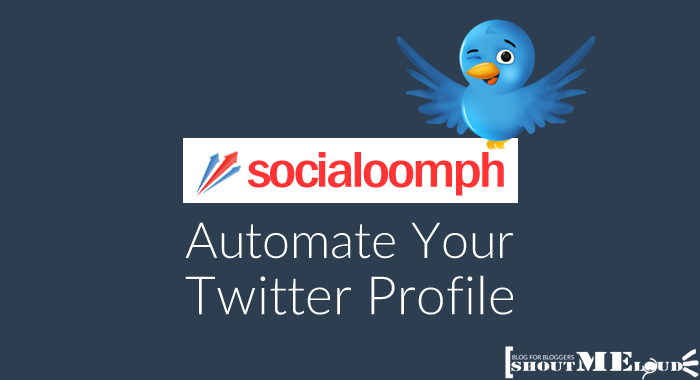 Automate Twitter Profile With Socialoomph
