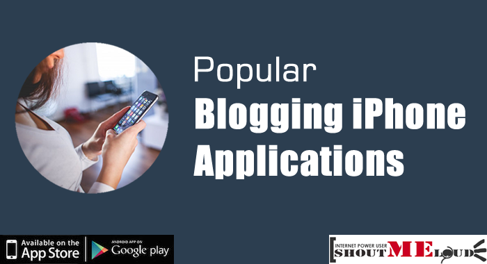 Blogging iPhone Applications