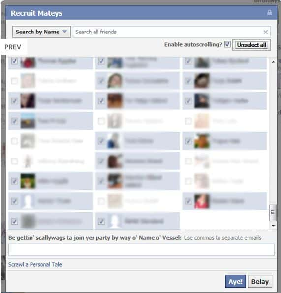 Greasemonkey script select all friends Facebook Hack: Select all Friends with Single Click  Greasemonkey Script