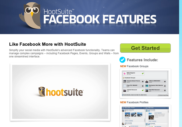 Hootsuite Facebook How to Make a Facebook Page Popular   Guide For An Entrepreneur