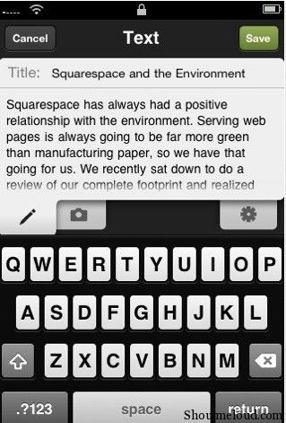 IBT Squarespace 10 Popular Blogging iPhone Applications