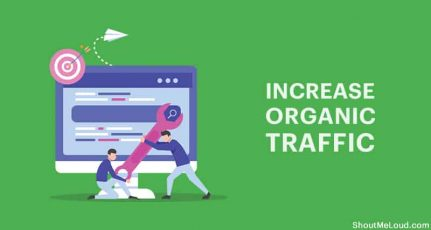 7 Actionable Steps To Increase Organic Traffic To Your Blog (Expert picks)