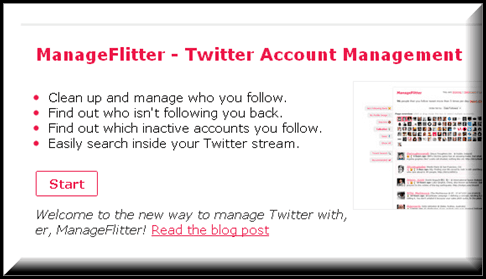 ManageFlitter 5 Twitter tools to Unfollow Inactive Users