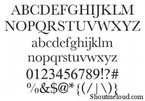 NEW ATHENA UNICODE font 300x208 22 Best free fonts for Designers