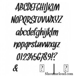 SNICKLES font 290x300 22 Best free fonts for Designers