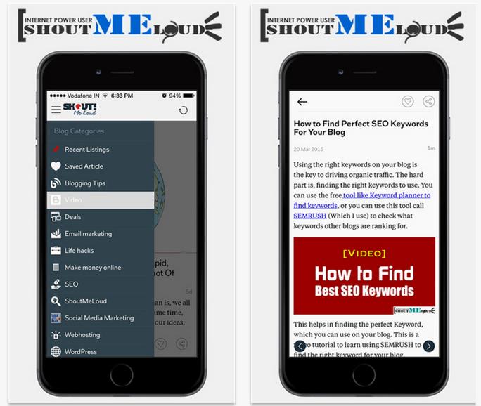 ShoutMeLoud iOS App
