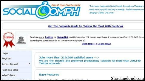 SocialOomph1 4 Free Twitter Tools to Send Automated Direct Messages
