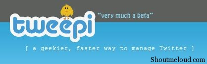 Tweepi logo Tweepi: A Cool Twitter tool to manage your Followers