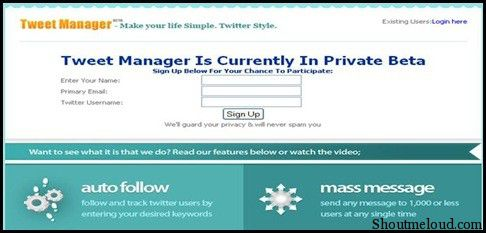 Tweetmanager1 4 Free Twitter Tools to Send Automated Direct Messages