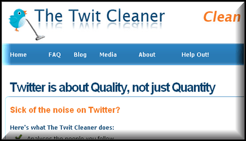 Twitcleaner 5 Twitter tools to Unfollow Inactive Users