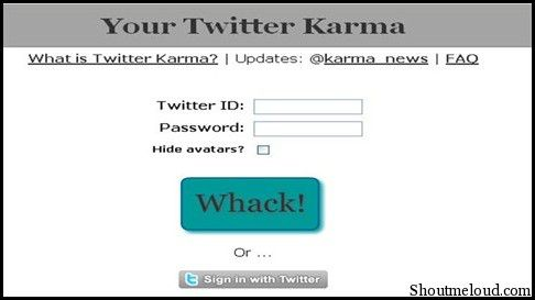 TwitterKarma2 5 Free Twitter Unfollow Tool to Unfollow Non Followers