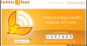 TwitterFeed: Tweet RSS Feeds of Your Blog Automatically