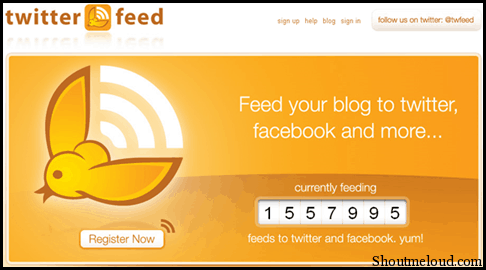 TwitterRSS TwitterFeed: Tweet RSS Feeds of Your Blog Automatically