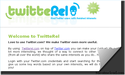 TwitterRel 3 Twitter Tools to Follow Like Minded People