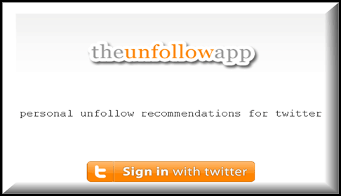 Unfollowapp 5 Twitter tools to Unfollow Inactive Users