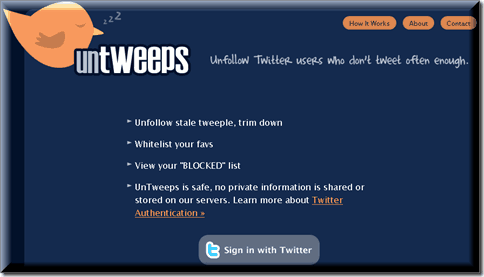 Untweeps thumb 5 Twitter tools to Unfollow Inactive Users